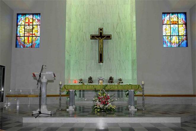 كنيسة القديسة مريم، دبي